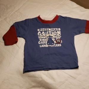 Long sleeve Moose tee shirt